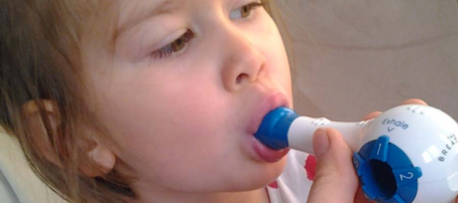 Use of respiratory muscle strength training (RMST) in children